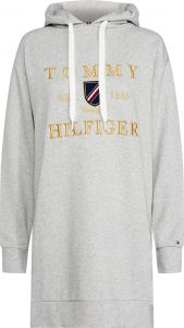 tommy-hilfiger-naisten-collegemekko-kristal-hooded-terry-dress-vaaleanharmaa-1