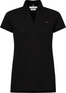 tommy-hilfiger-naisten-pusero-angie-slim-polo-ss-musta-1