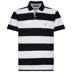 tommy-hilfiger-pikeepaita-block-stripe-regular-polo-raidallinen-sininen-1