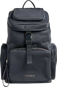 tommy-hilfiger-reppu-th-nylon-backpack-musta-1