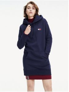 tommy-jeans-naisten-badge-hoodie-dress-tummansininen-2