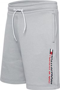 tommy-sport-miesten-shortsit-th-sport-fleece-logo-vaaleanharmaa-2