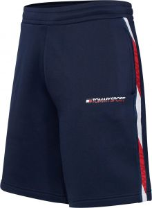 tommy-sport-miesten-shortsit-th-sport-fleece-tummansininen-1