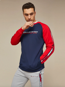 tommy-sport-miesten-swetari-th-sport-fleece-tape-tummansininen-1