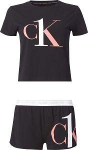 calvin-klein-naisten-pyjama-ss-short-set-musta-1