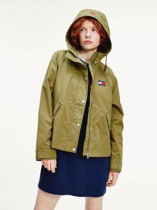 tommy-jeans-naisten-takki-logo-hood-jacket-armeijanvihrea-1