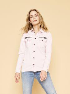 Mos Mosh Naisten Pusero, Selby Shirt Vaaleanpunainen