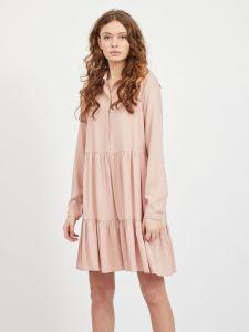 vila-naisten-mekko-morose-ls-shirt-dress-vaaleanpunainen-1