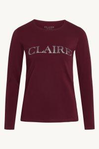 claire-naisten-trikoopusero-ls-logo-viininpunainen-1