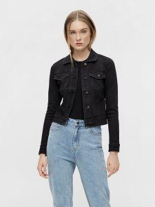 object-naisten-farkkutakki-objwin-new-denim-jacket-musta-1