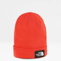 North Face Pipo, Dock Worker Recycled Beanie Kirkkaanpunainen