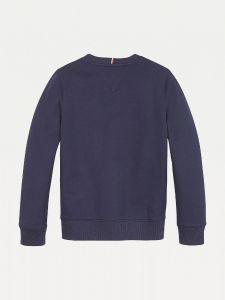 Tommy Hilfiger Childrenswear Lasten Collegepaita, Essential CN Sweatshirt Tummansininen