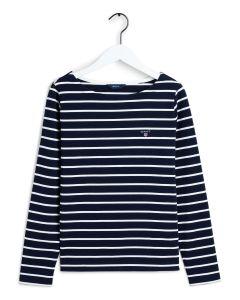 gant-naisten-pusero-breton-stripe-boatneck-jumper-raidallinen-sininen-1