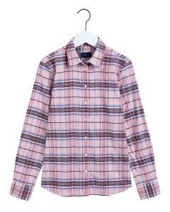 gant-naisten-ruutupaita-check-twill-shirt-vaaleanpunainen-kuosi-1