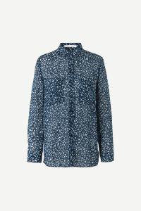 samsoe-samsoe-naisten-pusero-milly-shirt-sininen-kuosi-1