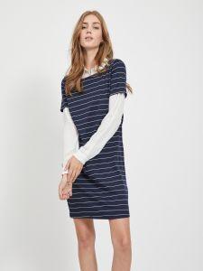 vila-naisten-mekko-vitinny-new-dress-raidallinen-sininen-1