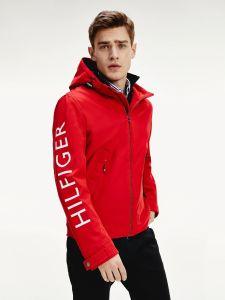 tommy-hilfiger-miesten-valikausitakki-flex-hooded-blouson-kirkkaanpunainen-1
