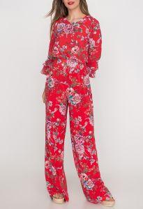 andiata-naisten-housut-kamille-2-punainen-kuosi-1