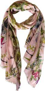 bella-balou-huivi-asian-garden-vaaleanpunainen-kuosi-2