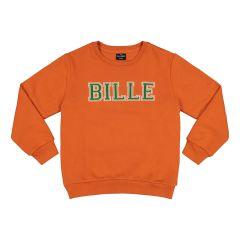 billebeino-lasten-collegepaita-cozy-bille-sweatshirt-oranssi-1