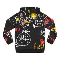 billebeino-lasten-huppari-art-birds-hoodie-musta-kuosi-2