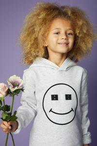 billebeino-lasten-huppari-kids-smiley-hoodie-vaaleanharmaa-3