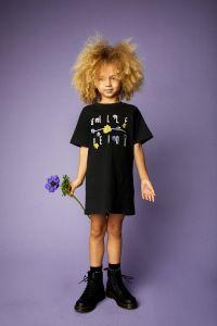 billebeino-lasten-t-paita-kids-flower-over-size-t-shirt-hiilenmusta-2