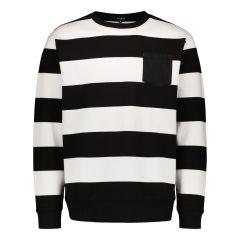 billebeino-miesten-collegepaita-striped-sweatshirt-raidallinen-musta-1