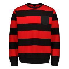 billebeino-miesten-collegepaita-striped-sweatshirt-raidallinen-punainen-1