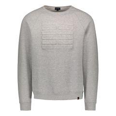 billebeino-miesten-collegpaita-embossed-sweatshirt-keskiharmaa-1