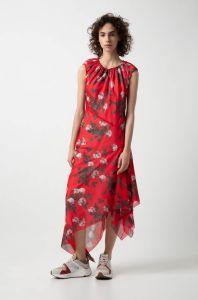 boss-woman-naisten-mekko-kefesha-punainen-kuosi-1