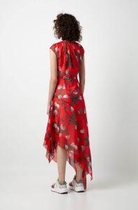 boss-woman-naisten-mekko-kefesha-punainen-kuosi-2