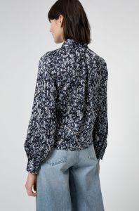 boss-woman-naisten-pusero-exelina-blouse-sininen-kuosi-2