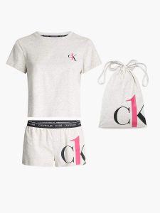 calvin-klein-accessories-naisten-pyjama-ss-short-set-luonnonvalkoinen-1