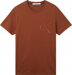 calvin-klein-jeans-miesten-t-paita-leather-monogram-tee-konjakinruskea-1