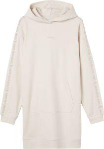 calvin-klein-jeans-naisten-hupparimekko-ckj-logo-trim-hoodie-dress-kitti-1