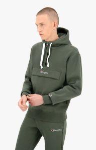 champion-miesten-huppari-half-zip-hooded-seatshirt-vedenvihrea-1