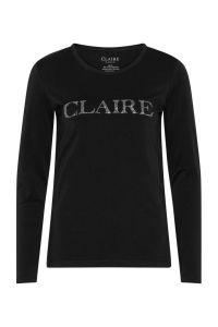 claire-naisten-trikoopusero-ls-logo-musta-1