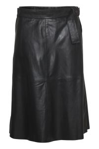 culture-naisen-hame-alina-leather-skirt-musta-1