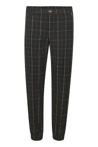 culture-naisten-housut-neta-pants-musta-ruutu-1