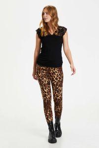 culture-naisten-leggingsit-semira-leggings-ruskea-kuosi-1