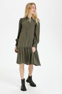 culture-naisten-mekko-bianca-dress-armeijanvihrea-1