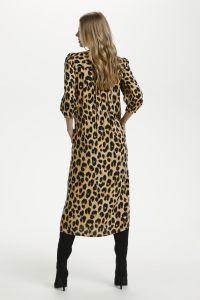 culture-naisten-mekko-carrie-dress-ruskea-kuosi-2