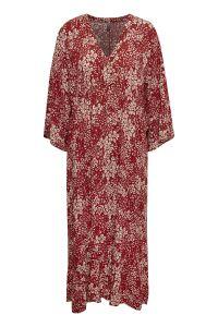 culture-naisten-mekko-elaina-midi-dress-punainen-kuosi-1