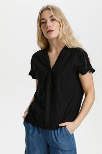 culture-naisten-paita-belinda-linen-blouse-musta-1