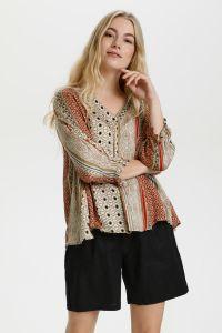 culture-naisten-paita-mouritza-blouse-beige-kuosi-1