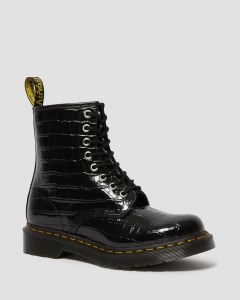 dr-martens-naisten-kengat-croco1460-musta-kuosi-1