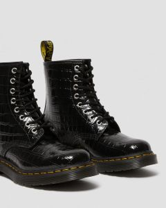 dr-martens-naisten-kengat-croco1460-musta-kuosi-2