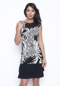 frank-lyman-naisten-mekko-mustavalkoinen-1