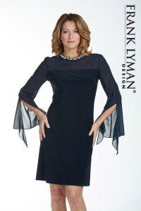 frank-lyman-naisten-mekko-tummansininen-1